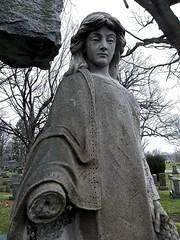 Woodlawn Cemetery (Gerri Gray Photography) Tags: newyork cemetery grave graveyard statue female death memorial gravestone mementomori syracuse tombstones woodlawn gravemarker taphophilia