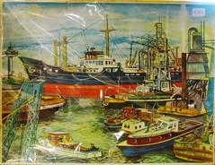 Rotterdam harbour (streamer020nl) Tags: haven port boot rotterdam ship harbour puzzle jigsaw hafen euromast schip legpuzzel bedam