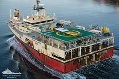 Ramform Challenger (Aviation & Maritime) Tags: norway offshore research bergen pgs seismic researchship researchvessel ramformchallenger seismographicresearchship seismographicresearchvessel pgsgeophysicalas