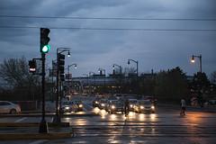 BU Bridge (shane.fu) Tags: bridge sunset rain boston university day traffic rainy bu