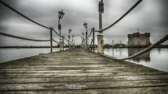 Un peu du pays d'Alice (2) (Tra Te E Me (TTEM)) Tags: bridge reflection water photoshop eau reflet pont hdr lampadaire redoute photomatix lumixfz1000