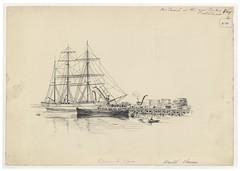 Loxton H731 (Bristol Libraries) Tags: uk india bristol sailing ship warf timber portishead