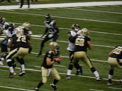 New Orleans Saints vs Jacksonville Jaguars (MonkeyManWeb.com) Tags: new mercedes benz football orleans nfl saints dome jacksonville superdome jaguars