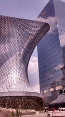 Museo Soumaya & Plaza Carso (itchypaws) Tags: plaza building museum df district july federal carso polanco distrito 2016