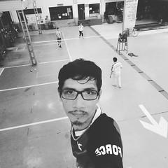 #exercise #badminton #แบดมินตัน ....😅😅😅