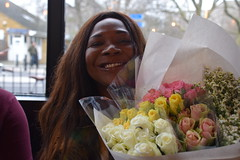 DSC_9449 Columbia Road Flower Market London Pily with Roses at the Bird Cage Pub (photographer695) Tags: road flower bird london pub with market cage columbia sopie pily