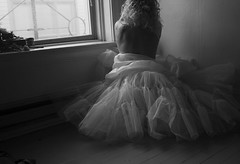 A  Day in the Life of... (Sophie.Dituri) Tags: portrait bw white black classic window self person photography photo bedroom sophie classical tulle tutu selfie budoir dituri sophiekoryn