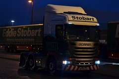 Stobart H6954 PF14 LCL Keisha Louise at Junction 41 Wakefield 22/12/15 (CraigPatrick24) Tags: road truck cab transport lorry delivery vehicle wakefield scania logistics stobart eddiestobart stobartgroup junction41 scaniar450 h6954 pf14lcl keishalouise