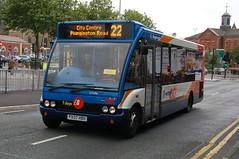 Stagecoach Optare Solo 47486 PX07HBH - Preston (dwb transport photos) Tags: bus solo preston stagecoach optare 47486px07hbh