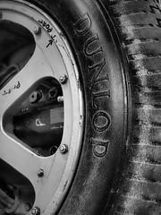 Westland Lysander Tyre (davepickettphotographer) Tags: park day open weekend aircraft aviation bedfordshire engineering trust hanger lysander hangers tyre dunlop secondworldwar 2016 shuttleworthcollection oldwarden