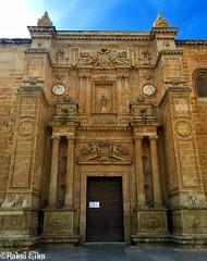 Puerta de la Catedral de Almera (akel_lke ) Tags: city arquitectura puerta foto catedral iglesia ciudad andalucia murcia urbana elke almera ville rakel iphone religin iphone6 rakelelke rakelmurcia iphone6splus