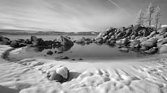 Sand Harbor, Lake Tahoe (infrared) (jkup) Tags: sandharbor