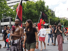 Invasion Day march and rally 2016-1260146.jpg (Leo in Canberra) Tags: march rally protest australia canberra australiaday act indigenous invasionday garemaplace 26january2016 aboriginalandtorresstraightislanders lestweforgetthefrontierwars endtheusalliance closepinegap