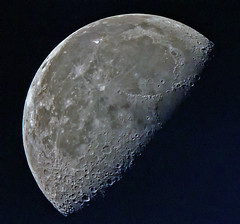 Moon shot (AnilGoyal Pixelart) Tags: moon nature astro challengeyouwinner anilgoyalpixelart