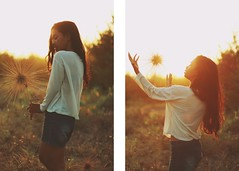 Summer of 1988. (Januarain Photography) Tags: sunset summer sunlight girl sunshine canon asian flickr sunny summertime tumblr januarain