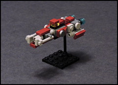 Slingshot-class Light Freighter (Rphilo004) Tags: ship lego space micro spaceship spacecraft freighter moc microspace microscale