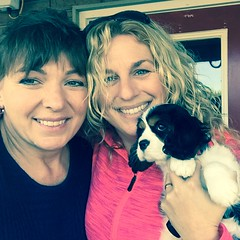 "Roxie and her new momma Heidi • <a style=""font-size:0.8em;"" href=""//www.flickr.com/photos/72564046@N04/24630236122/"" target=""_blank"">View on Flickr</a>"