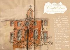 Montauban, spa des Capucins (bigoudene46) Tags: dessin montauban capucins carnetdevie carnettiste bigoudene46 dessinsurlevif