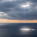 Tyrhanian sea under spot lights near Riomaggiore, Rioma, Liguria, Italy with Panasonic DMC-GX7