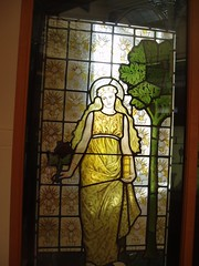 Domestic Panel (Aidan McRae Thomson) Tags: window museum birmingham artgallery stainedglass westmidlands preraphaelite burnejones bmag