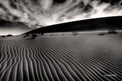 GOBI006 (siggi.martin) Tags: china cloud clouds landscape blackwhite asia asien desert dunes wolke wolken landschaft gobi wüste dünen schwarzweisss