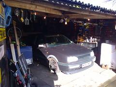 "VW Golf VR6 ""M360 MPL"" (ukdaykev) Tags: car vw golf garage low lowered vr6 mk3 m360mpl"