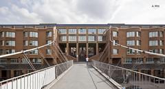 Footpath bridge entrance (A. Wee) Tags: bridge germany hotel europe footpath lemeridien 欧洲 德国 斯图加特 艾美 酒店stuttgart
