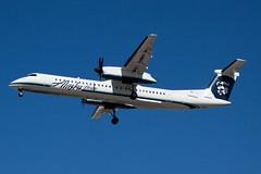 Alaska Airlines (Horizon Air) Bombardier Dash-8 Q400 N405QX (jbp274) Tags: airport horizon airplanes lax dash8 qx alaskaairlines bombardier q400 klax horizonair