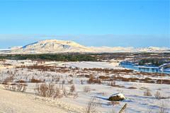 Alviðra við Sogið (skolavellir12) Tags: snow ice water river island iceland islandia islanda alviðra asaog