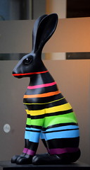 Technicolour (Keith Mac Uidhir  (Thanks for 3.5m views)) Tags: pink blue ireland red dublin orange black color colour rabbit bunny green art colors yellow easter rainbow colorful colours purple display pascua irland exhibition pscoa colourful ostern easterbunny dublino irlanda irlande pasqua pasko ierland easterrabbit irska wielkanoc pques dubln irlandia lirlanda irsko  paskalya airija  irlanti  cng  iirimaa ha     rorszg         rlnd