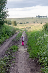 IMG_8815 (alexey.safonkin) Tags: road field grass countryside child