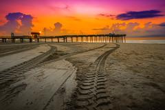 _MG_2949-2 (c_slavik) Tags: ocean city sunset summer sky orange beach beautiful beauty clouds sunrise landscape sand colorful nj shore jersey