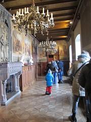 2012 01 04 Germania - Baden Wurttemberg - Burg Hohenzollern - Biblioteca_0312 (Kapo Konga) Tags: castello germania burghohenzollern appartamenti badenwurttemberg ambientiinterni