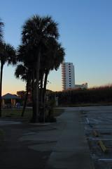BEACH FRONT BUILDING (R. D. SMITH) Tags: sky sun building beach nature sunrise outside dawn beachfront eos7d canoneos7d