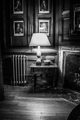 """Dunster Castle in Black and white • <a style=""""font-size:0.8em;"""" href=""""http://www.flickr.com/photos/32236014@N07/25560707201/"""" target=""""_blank"""">View on Flickr</a>"""