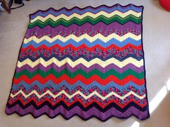 Leigh A Coon (The Crochet Crowd) Tags: game stitch right blanket afghan throw crochetblanket thecrochetcrowd stitchisright
