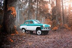 Forester 410N (Rawcar.com Photography) Tags: auto classic cars car race forest photography automobile photographer offroad 4x4 automotive racing soviet 1959 ussr 410 azlk mzma 410n rawcar rawcarcom