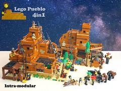 Lego Pueblo A0 (giorgio.chronas) Tags: arizona verde america mexico lego native pueblo western taos ideas acoma mesa zuni