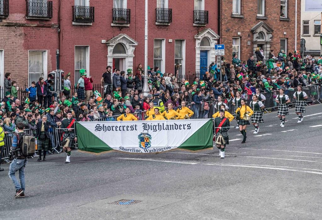 SHORECREST HIGH SCHOOL [ST. PATRICK'S PARADE IN DUBLIN 2016]-112253