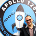 Me in fron tof the Apollo 1201 sign, EFF, San Francisco, California, USA