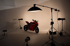 This how i get my pictures. (d.rbbins) Tags: monster photography howto ligth ducati felling motorcicle filmphotography redhorse
