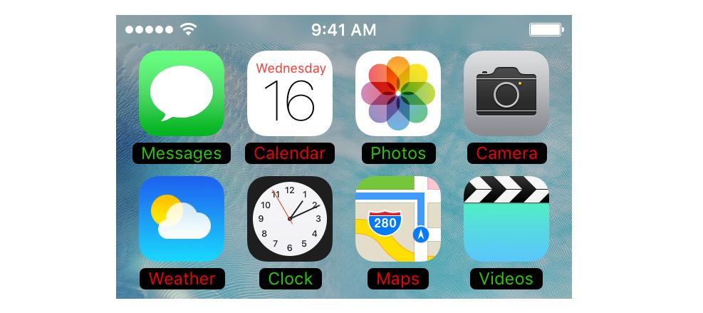 ផ្លាស់ប្តូរពណ៌ឈ្មោះកម្មវិធីលើ iPhone ដើម្បីឲ្យកាន់តែទាក់ទាញបាន បន្ទាប់ពីដំឡើង Tweak នេះ!