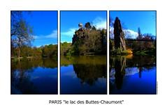 P1970426 (cowsandgirl71) Tags: paris france architecture port de landscape temple la eau lumire lac panasonic reflet paysage arbre triptyque butteschaumont sibylle fz200
