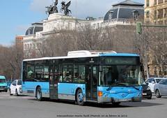 Iribus Iveco Noge Cittour - EMT Madrid n 6517 (Rubn Elvira) Tags: madrid plaza bus l19 consorcio emt regional catalua municipal iveco atocha transportes empresa ccj noge legazpi 5833 6517 bkb entrevias iribus crtm cittour 5833ccj
