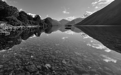 Wast water reflections (Graham - bell) Tags: water reflections stones great cumbria fells gable wast wasdale screes lingmell yewbarrow