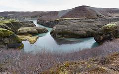 Brarhl (holger.torp) Tags: white nature water rock river landscape island iceland outdoor sland hvt brarhl