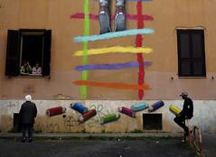 Tor Marancia // Rome (Giuseppe Della Greca) Tags: street streetart roma graffiti murales tormarancia challengegamewinner