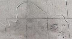 """Nutida """"hällristningar"""" vid åttans hållplats på Korsvägen i Göteborg 2016 (biketommy999) Tags: hällristning göteborg korsvägen 2016 konst biketommy biketommy999 sverige sweden"""
