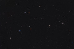 Widefield M98 | M99 | M100 (Claus Steindl) Tags: sky night canon eos galaxy astrophotography pro ef coma 400mm lacerta deepsky mgen f56l berenices heq5 7da astrometrydotnet:status=solved astrometrydotnet:id=nova1534099