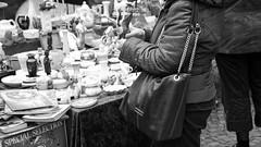 Objekt der Begierde // Object of Desire (#RustyNail Photography) Tags: old bw white black trash canon stuttgart alt nail rusty adobe tamron bnw lightroom karlsplatz rustynail flohmarkt breuninger